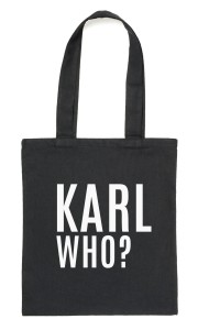 "Czarny Shopper""KARL WHO?"