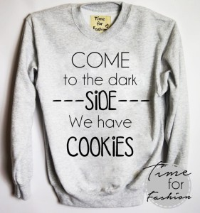 "Bluza""COME TO THE DARK SIDE..."""
