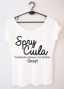 "PROORIGINAL BLUZKA  ""SPRY CIULA..."""