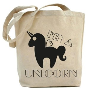 "Shopper ""I'M A UNICORN"""