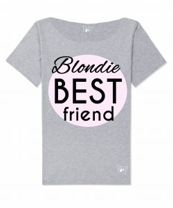 Bluzka  damska blondie best friend