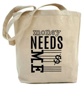 "Shopper ""MONEY NEED ME $"""