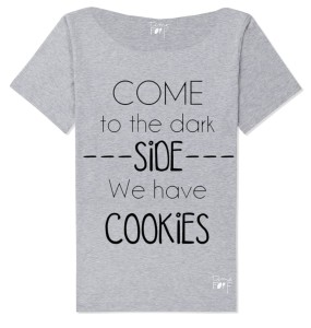 Bluzka  damska come to the dark side we have cookies